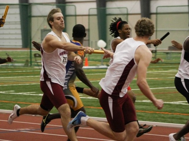 GPAC Athletes Standout on Friday at NAIA Indoor T&F Championships
