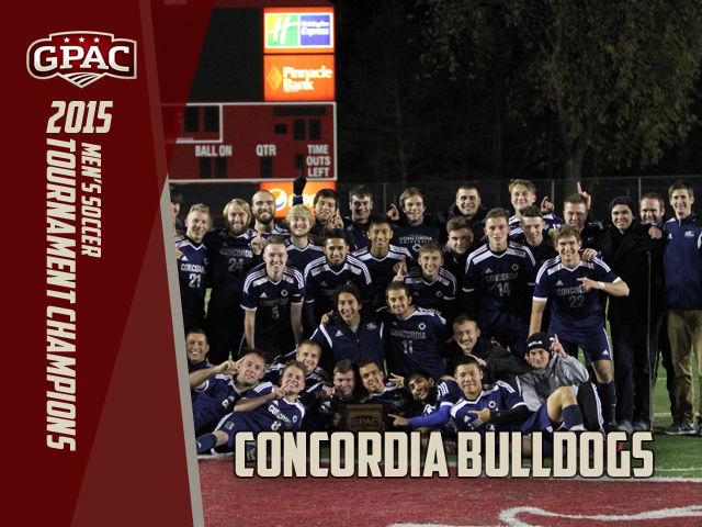 Photo for Concordia Wins First Ever GPAC Men's Soccer Tournament Championship