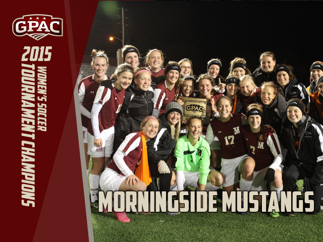 Photo for Morningside Claims 2015 GPAC Women's Soccer Postseason Title