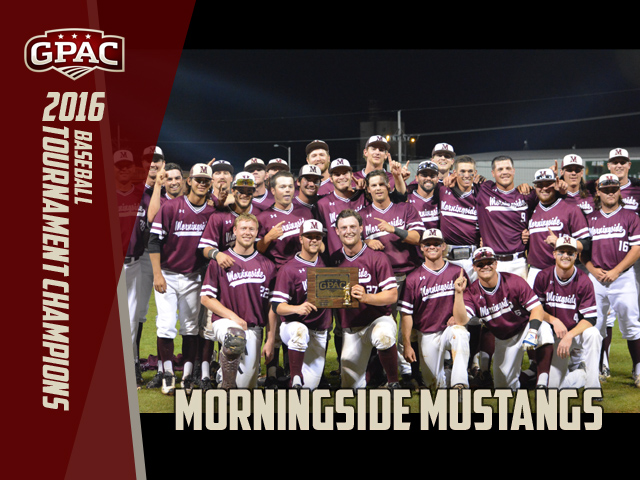 Photo for Morningside Wins GPAC Baseball Tourney Title