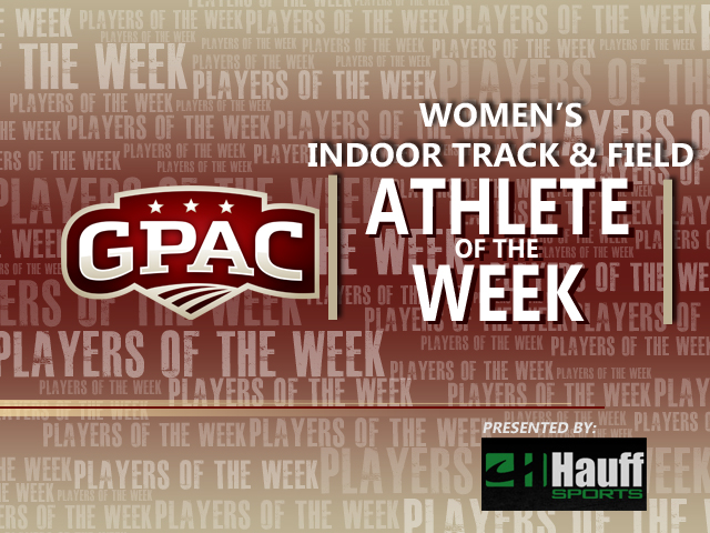 Photo for Week 5: GPAC Women's Indoor Track & Field Honors