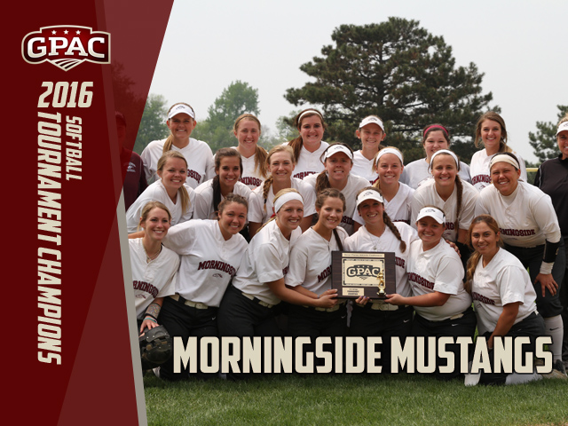 Photo for Morningside Claims GPAC Softball Title