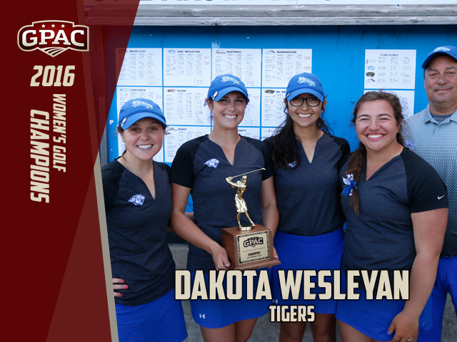 Photo for DWU Claims 8th Consecutive GPAC Women's Golf Title