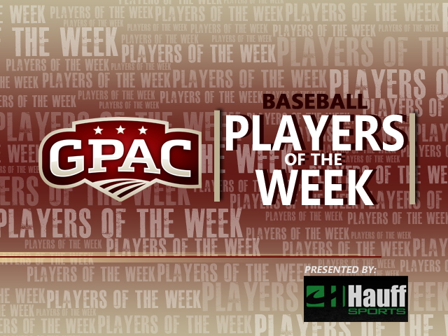 Photo for Week 5: GPAC Baseball Weekly Honors