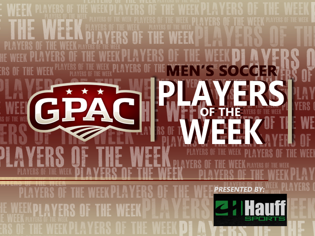 Photo for Week 10: GPAC Men's Soccer Honors