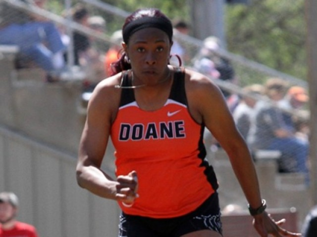Photo for Doane's Wallace is NAIA Triple Jump Champion