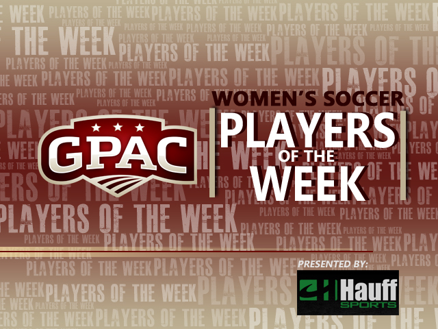 Photo for Week 10: GPAC Women's Soccer Honors