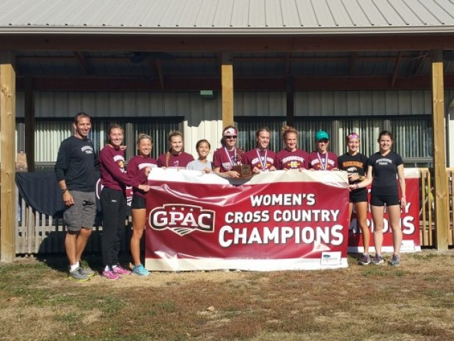 Photo for Morningside Wins 2016 GPAC Cross Country Title