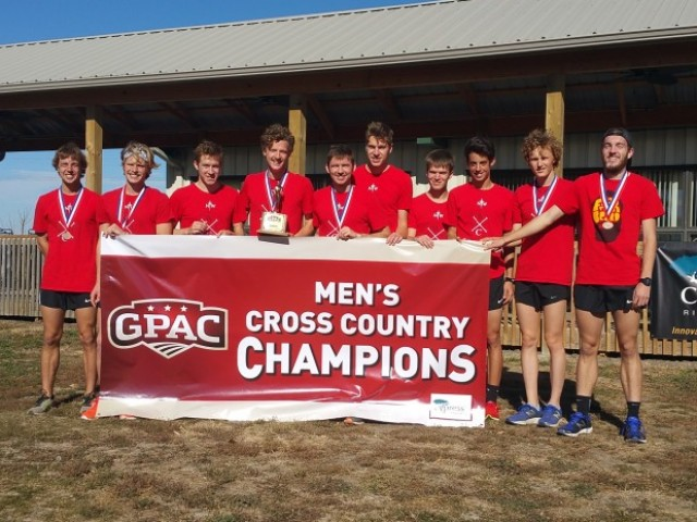 Photo for Northwestern Wins 2016 GPAC Cross Country Title