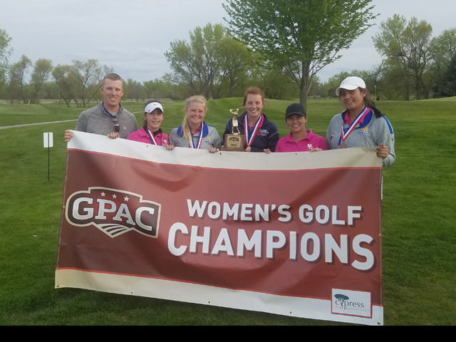 Photo for Briar Cliff Claims 2016-17 GPAC Women's Golf Title; Ahlers Medalist