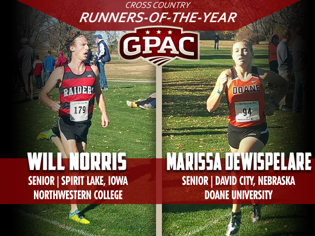 Photo for 2016 GPAC Cross Country Honors Announced