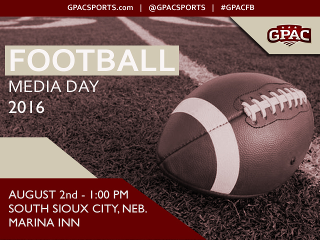 Photo for GPAC Football Media Day is August 2
