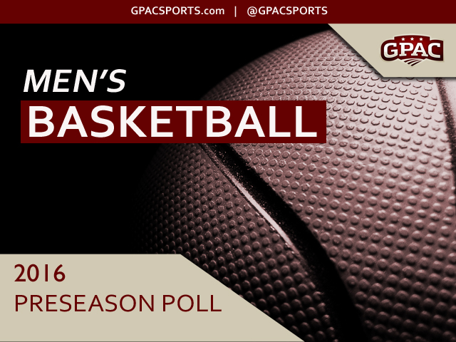 Photo for 2016-17 GPAC Men's Basketball Preseason Poll Released