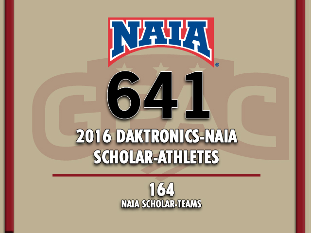 Photo for GPAC Totals Most Scholar-Athletes in Conference History