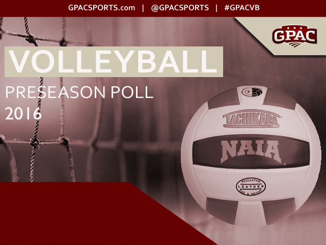 Photo for 2016 GPAC Volleyball Preseason Poll Released