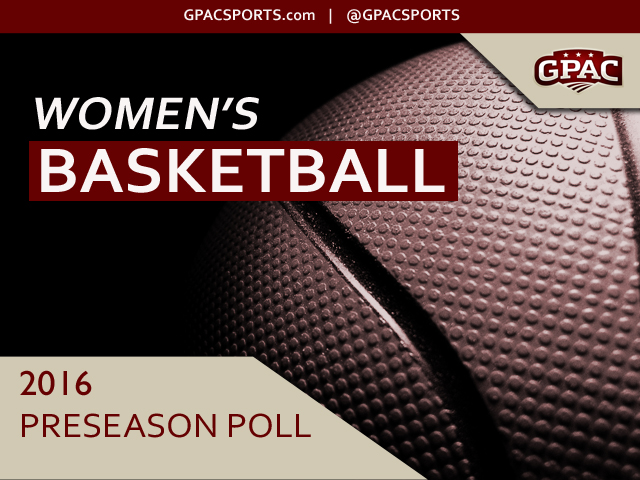 Photo for 2016-17 GPAC Women's Basketball Preseason Poll Released
