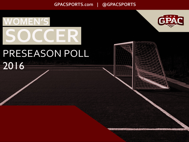 Photo for 2016 GPAC Women's Soccer Preseason Poll Released