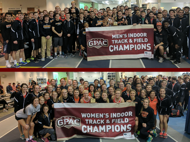 Photo for Doane Sweeps 2017 GPAC Indoor Track and Field Championships