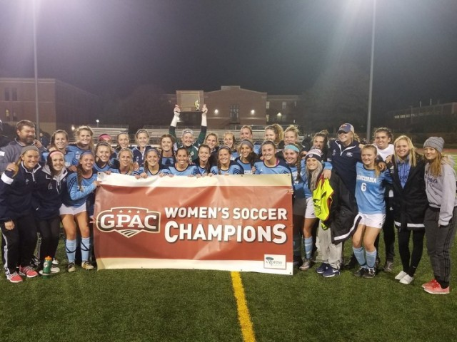 Photo for Concordia Wins Cypress Risk Management GPAC Women's Soccer Tournament