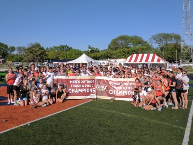 Photo for Doane Sweeps Outdoor GPAC Track and Field Championships