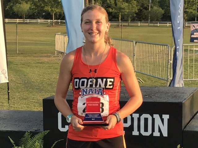 Photo for Doane's DeWispelare Highlights Solid GPAC Showing at NAIA OUTF Nationals