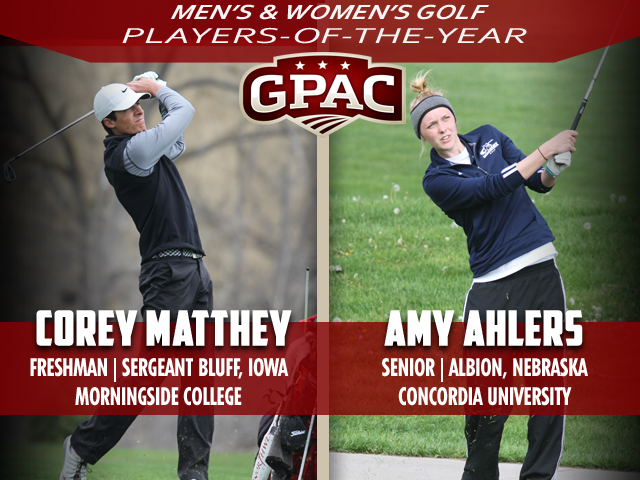 Photo for 2017 Men's & Women's All-Conference Golf Honors