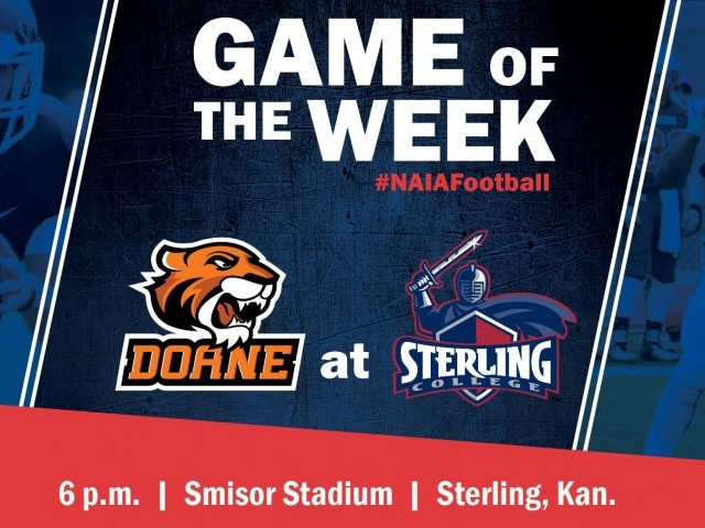 Photo for Doane at Sterling is NAIA Football Game of the Week!