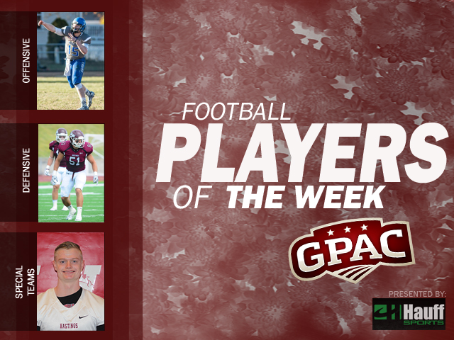 Photo for Week 1: Football Honors