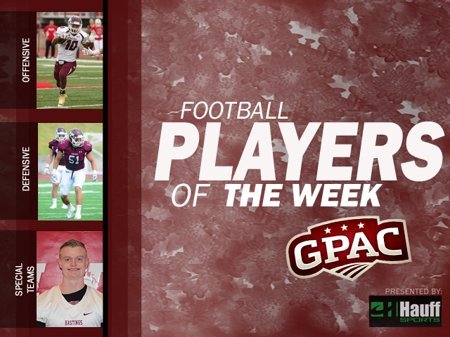 Photo for Week 6: Football Honors