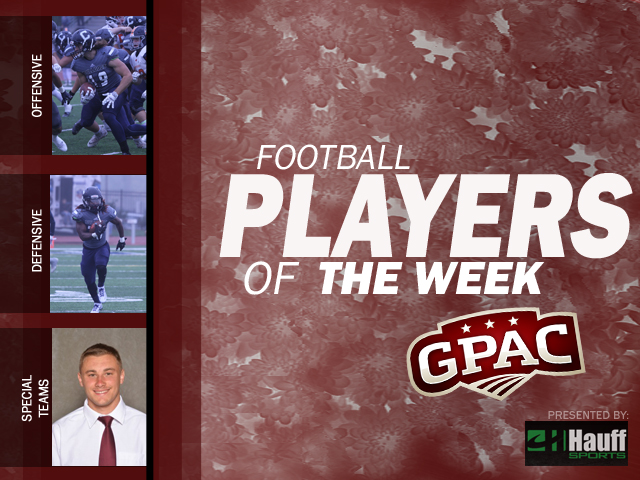 Photo for Week 7: Football Honors