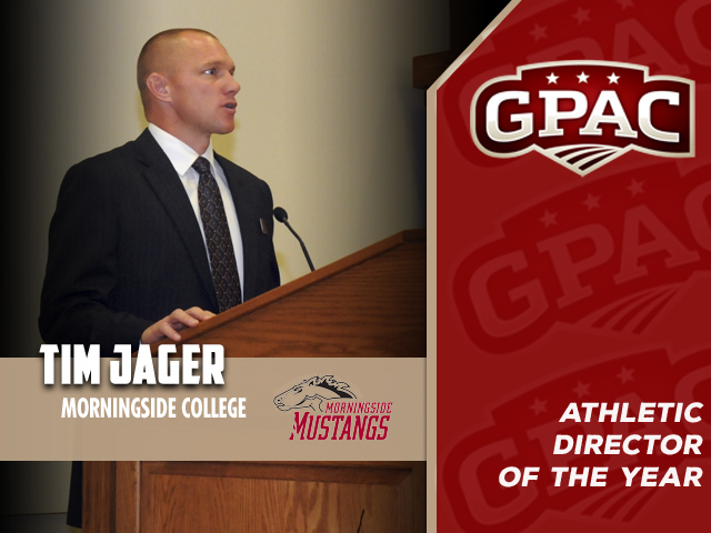 Photo for Morningside's Jager Named GPAC Athletic Director-of-the-Year