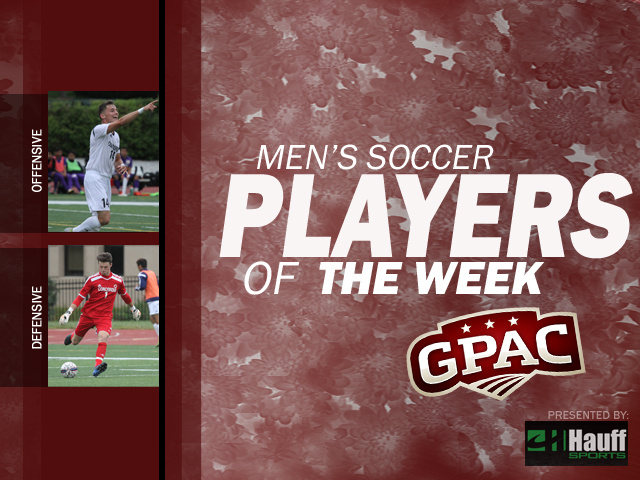 Photo for Week 4: Men's Soccer Honors