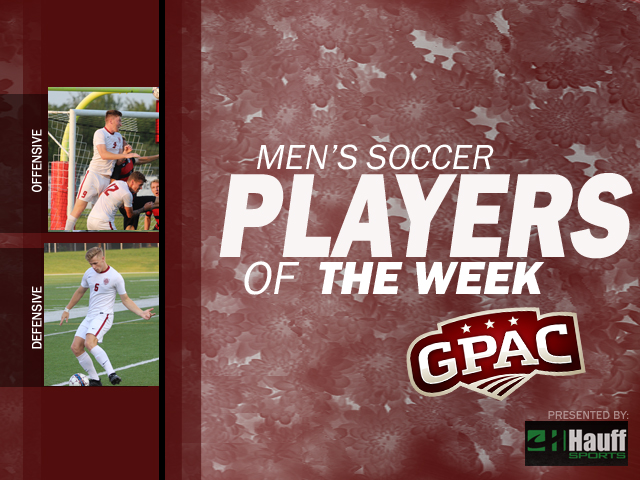 Photo for Week 5: Men's Soccer Honors