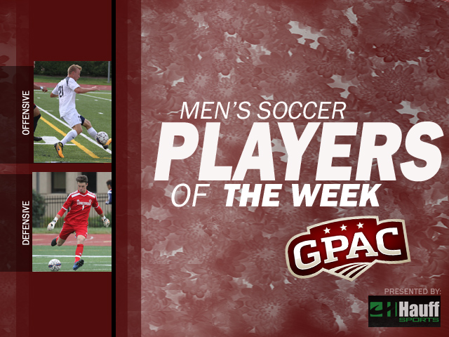 Photo for Week 6 Men's Soccer Honors