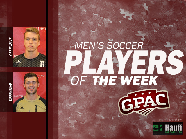 Photo for Week 7: Men's Soccer Honors