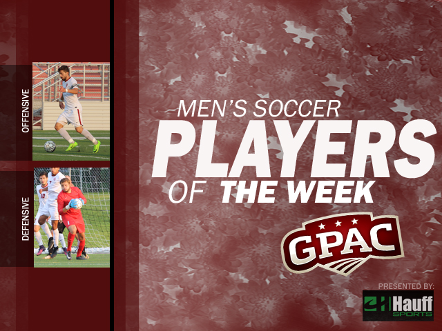 Photo for Week 8: Men's Soccer Honors