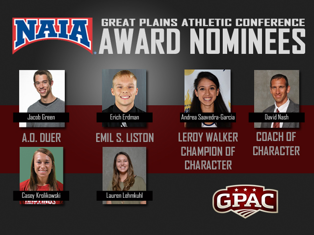 Photo for GPAC Nominees for NAIA Top Honors